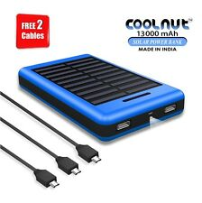 COOLNUT High Performance Solar 13000 mAh Best Power Bank For All Smartphones