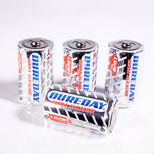 4-40x BATTERIE ALCALINE 1,5V TIPO D MODO Batteria dureday ULTRA lights4fun