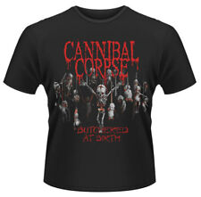 CANNIBAL CORPSE 'BUTCHERED AT BIRTH Babies ' T-SHIRT - Nuevo y Oficial