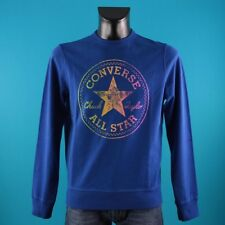 CONVERSE SWEAT CT MAN RAINBOW FELPA UOMO 5EU370A