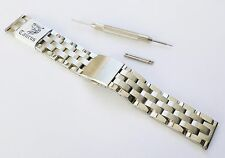 Taurus® 18mm 20mm Solid Links Stainless Steel Divers Watch Band Strap Bracelet