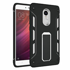Shockproof Slim Hybrid Hard PC For Xiaomi Redmi Note 4/4X Armor Stand Case Cover