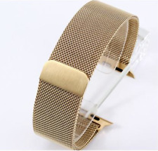 Milanese Magnetic Loop Stainless Steel Strap Band For Smart Watch 38/42mm UK