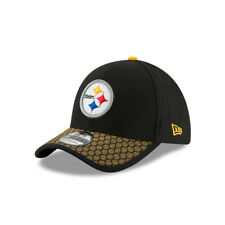 New Era NFL PITTSBURGH STEELERS Authentic 2017 Sideline 39THIRTY Stretch Fit Gam