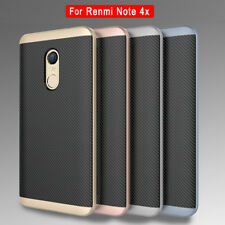 PC Frame Shockproof Hybrid Case For Xiaomi Redmi Note 4X TPU Silicone Cover Skin