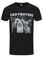 Foo Fighters Old Band Men's Black T-shirt