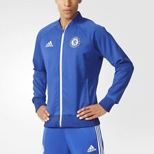 adidas CHELSEA FC ANTHEM JACKET BLUE MEN'S FOOTBALL PREMIERSHIP CHAMPIONS NEW