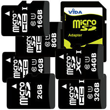 TF Micro SD SDHC SDXC Memory Card High Speed Class UHS-1 with Adapter For Huawei