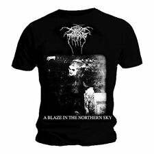 DARKTHRONE' A Blaze In The Northern Sky ' T-Shirt (S - XXXL) - Nuevo y Oficial