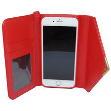 PU Leather Flip Case for iPhone 6 6S 6 Plus 6S Plus with Cash & Card Slots