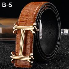 NEW MENS DESIGNER BELT FOR MENS LUXURY LEATHER BELTS, H BELT, H BUCKLE, GENTS, H