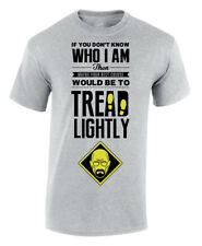 Tread Lightly Breaking Bad Walter White T-Shirt