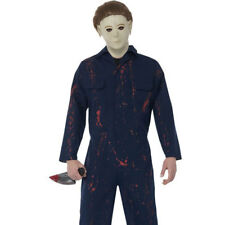 Mens Halloween H20 Michael Myers Halloween Fancy Dress Costume Outfit 27159