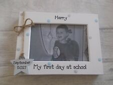 Personalised First Day At School Photo Frame Gift 6X4 5X7 8X6 10X8