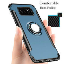Car Stand Case Ring Armor Rugged Phone Magnetic Cover For Samsung Galaxy Note 8