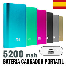Bateria portatil tipo XIAOMI cargador usb movil moviles POWER BANK 5200 mAh