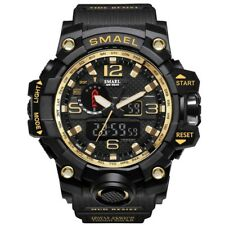 New Military Watch Men Sports Watches Dual Display Analog Digital LED Electronic