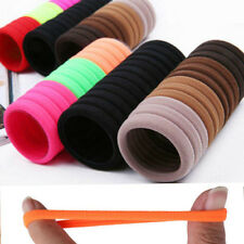 50Pcs Women Girls Hair Band Ties Rope Ring Elastic Hairband Ponytail Holder New