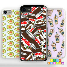 NUTELLA CHOCOLATE Phone Case Cover Food for iPhone Samsung Hard/Rubber