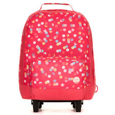 Roxy Rainbow Connection Kids Wheelie School Backpack AX Confetti Dots Combo Para