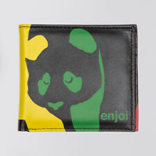 Enjoi 'Panda' Wallet. Black/Rasta.