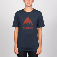 Burton 'Classic Mountain High' Tee. Indigo.