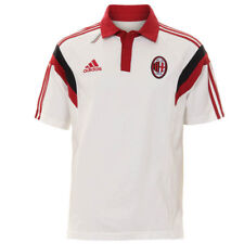 adidas AC Milan Mens Polo Shirt T-Shirt Size XS - XL NEW