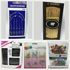 Large Multi Colors Pearl Headed Pins Dress Making Weddings Party 100pc And More.