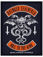 Avenged Sevenfold Hail To The King Patch 8x10cm