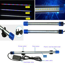 blanc bleu LED étanche aquarium Lampe Aquarium led submersible Lumières 20-50cm