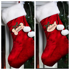 PERSONALISED CAT or DOG CHRISTMAS STOCKING KITTEN PUPPY CHRISTMAS GIFT PRESENT