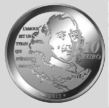 FRANCE 10 Euro Argent Chimène BE 2015