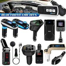 Wireless Bluetooth car kit Music Receiver FM Transmitter For MP3 Player Radio UK