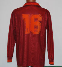 maglia TOTTI Roma-Bari asics 1994 1995 home no match worn issue jersey shirt