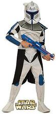 Boys Star Wars Fancy Dress Costume Clone Trooper Rex Outfit