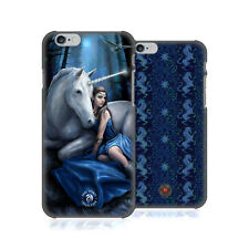 OFFICIAL ANNE STOKES UNICORNS HARD BACK CASE FOR APPLE iPHONE PHONES