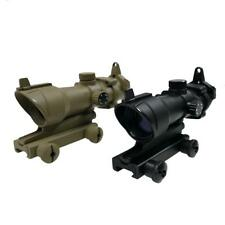 AIM-O Airsoft ACOG Style Red Dot Sight Scope 1X32 AO-5015 Fits 20mm Rails