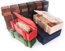 Wooden Bottle Display Presentation Boxes /Gift Box Carrier Crate Storage Case