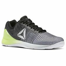 Reebok Womens Nano 7 Crossfit Shoes White / Skull Grey /Electric