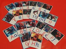 LEARN WITH SPIDER MAN - DOC MCSTUFFIN - TOY STORY - ALPHABET & NUMBERS 0-20