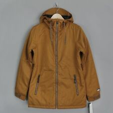 Volcom Womens Act Insulated Snow Jacket Brown