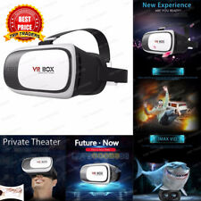 COMBO & SINGLE OFFER 3D VR BOX 2.0 Virtual Reality Glasses Headset wid VR Remote