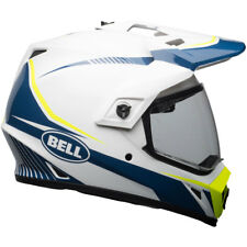 Bell mx-9 ADVENTURE Mips Linterna Brillo Blanco/Azul/Amarillo Casco