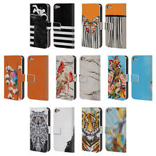 GIULIO ROSSI ANIMAL COLLECTION LEATHER BOOK WALLET CASE FOR APPLE iPOD TOUCH MP3