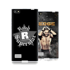 UFFICIALE WWE EDGE COVER MORBIDA IN GEL PER BLACKBERRY TELEFONI