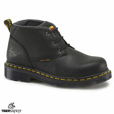 Dr Marten DM DOCUMENTI Izzy ST donna in pelle nera 3 EYE