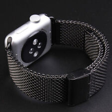 For Apple iwatch 1 2 3 Sport Stainless Steel Milanese Loop Strap 42mm watch Band