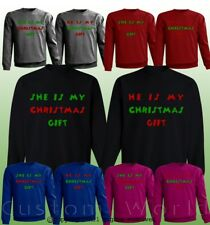 Ugly Christmas Sweater for Couples Funny Graphic Matching Sweaters Holidays New