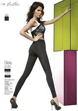 OTELIA Leggings Pantacollant Treggings Neri 200 DENARI con Cuciture Decorative