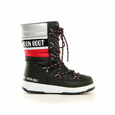 MOON BOOT WE QUILTED JR WP NERO ROS DOPOSCI MOON BOOT 340515 001